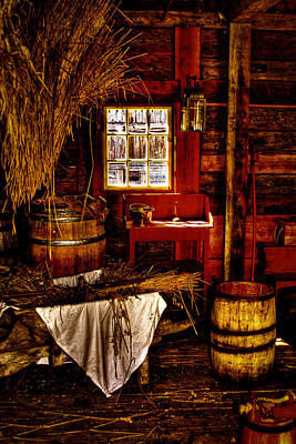 Photograph - The Granary At Fort Nisqually IIII by David Patterson