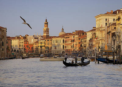 The Grand Canal Art Print by Daniel Sands