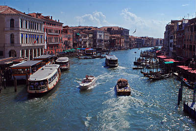 Jeka World Photograph - The Grand Canal by Jeff Rose