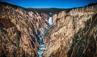 The Grand Canyon Of Yellowstone Print by Brad Boserup