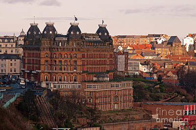 Colourfull Photograph - The Grand Hotel by David  Hollingworth