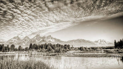 Teton Wall Art - Photograph - The Grand Tetons In Jackson Wyoming by Dustin K Ryan