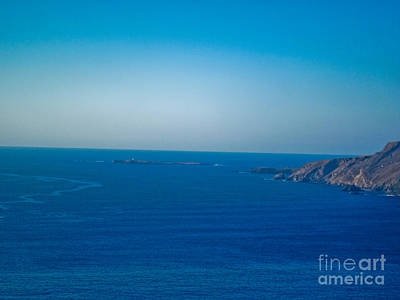 The Great Atlantic At Slieve League Art Print by Black Sun Forge