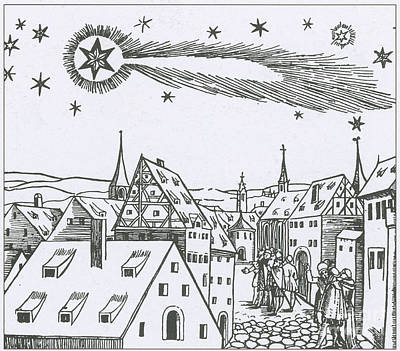 The Great Comet Of 1556 Print by Science Source