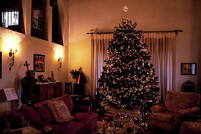 Photograph - The Great Room At Christmas by Lorraine Devon Wilke