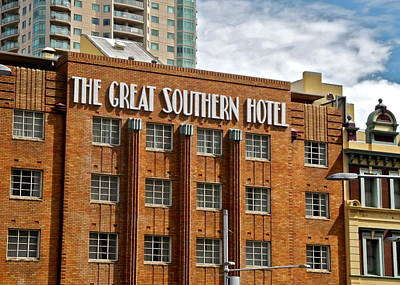 Photograph - The Great Southern Hotel Building by Kirsten Giving