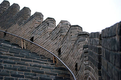 Photograph - The Great Wall by Harvey Barrison