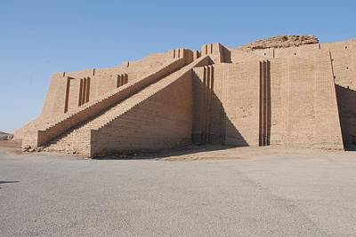 Ancient Mesopotamia Photograph - The Great Ziggurat Of Ur Was Built by Everett