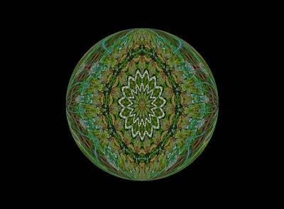 The Green Garden Art Print by Yvette Pichette