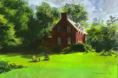 Painting - The Green Grass by Sergey Zhiboedov
