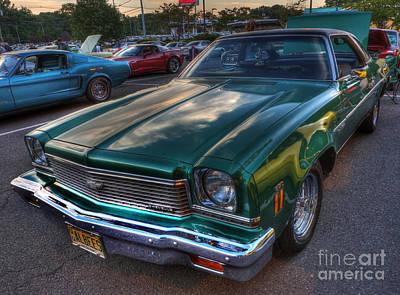 Photograph - The Green Machine - Chevrolet Chevelle  by Lee Dos Santos