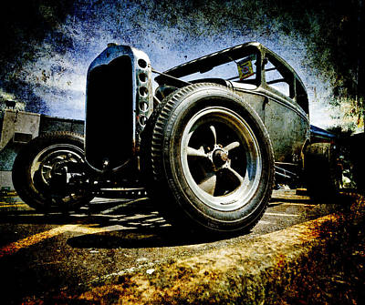 The Grunge Rod Art Print by Phil 'motography' Clark