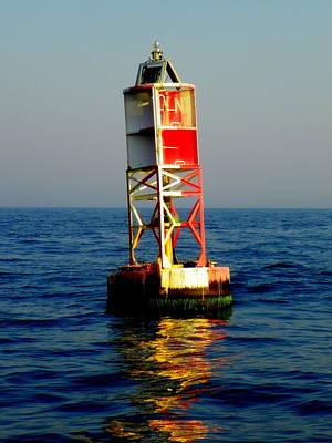 Sea Captain Photograph - The Guiding Light by Karen Wiles