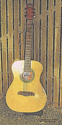 Photograph - The Guitar by Randall Thomas Stone