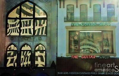 Photograph - The Guitar Shop by Julie Lueders
