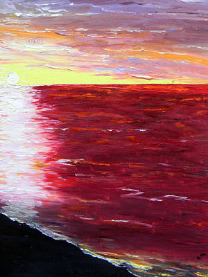 Painting - The Gulf by Christy Usilton