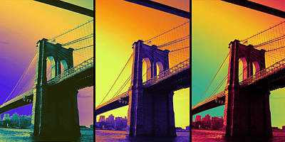 The Hardest Thing In Life To Learn Is Which Bridge To Cross  Art Print by Jenn Bodro