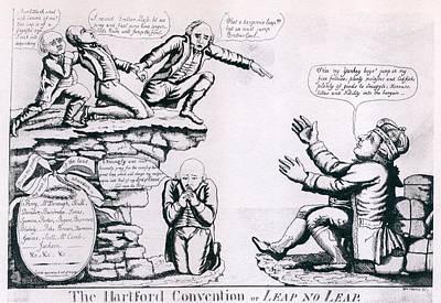 The Hartford Convention. Political Art Print