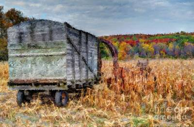 The Harvester Art Print by Michael Garyet