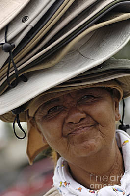 Photograph - The Hat Lady Costa Rica by Bob Christopher