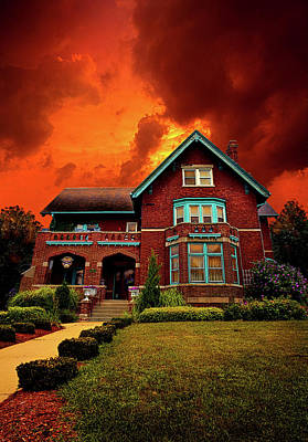 The Haunted Brumder Mansion Art Print by Phil Koch
