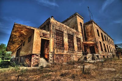 Photograph - The Haunted Factory by Stamatis Gr