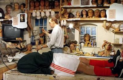 David Beckham Wall Art - Photograph - The Head Of David by Jacqui Kilcoyne