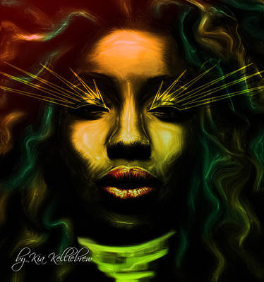 Jamaican Digital Art - The Healer by Kia Kelliebrew