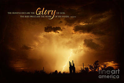 Photograph - The Heavens Declare by Shevon Johnson