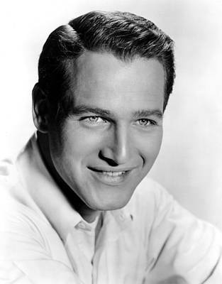 1957 Movies Photograph - The Helen Morgan Story, Paul Newman by Everett