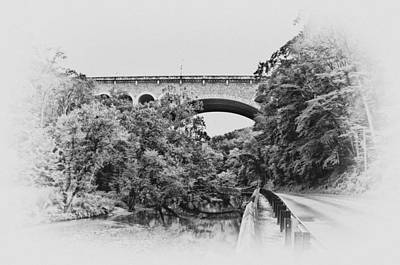 Creek Photograph - The Henry Avenue Bridge From Lincoln Avenue by Bill Cannon