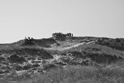 Beach Photograph - The Hill Dwellers by Betsy Knapp