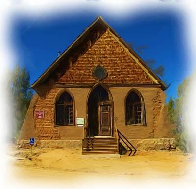 The Historic Hearst Church Art Print by FeVa  Fotos
