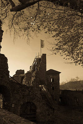 Photograph - The Hohenstein Castle by Andreas Levi