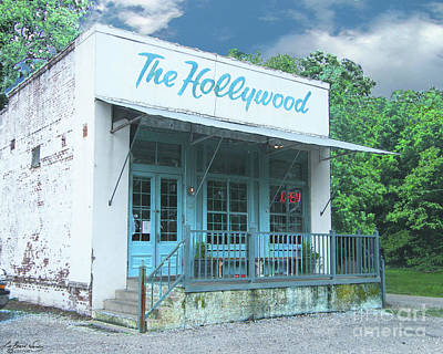 Digital Art - The Hollywood At Tunica Ms by Lizi Beard-Ward