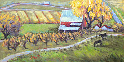 Wall Art - Painting - The Homeplace by Gina Grundemann