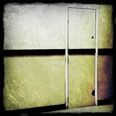 Restaurant Photograph - The Hood Hang Door, Brooklyn by Natasha Marco