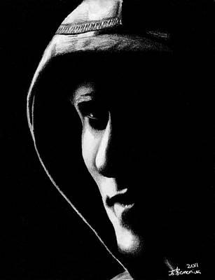 The Hooded Figure Art Print by Kayleigh Semeniuk