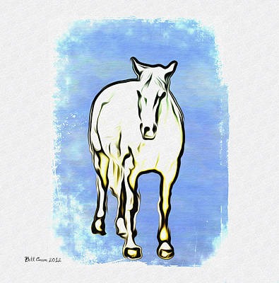 The Horse Print by Bill Cannon
