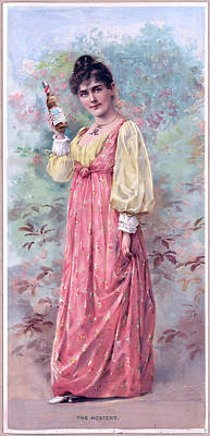 St. Louis Mixed Media - The Hostess by Charles Shoup