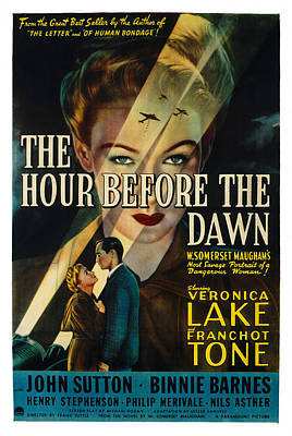 Postv Photograph - The Hour Before The Dawn, Veronica by Everett