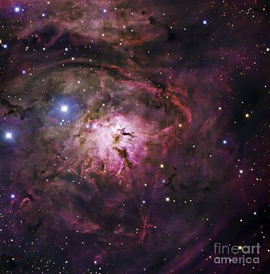 The Hourglass Nebula Art Print