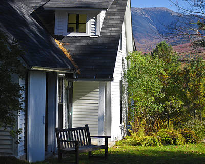 Photograph - The House Of Robert Frost by Peggie Strachan