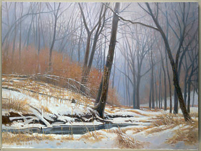 Painting - The Hush Of Winter by Tom Heflin