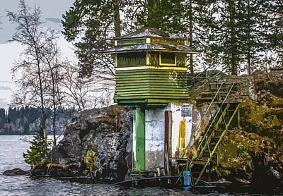 Print featuring the photograph The Hut 2 by Matti Ollikainen