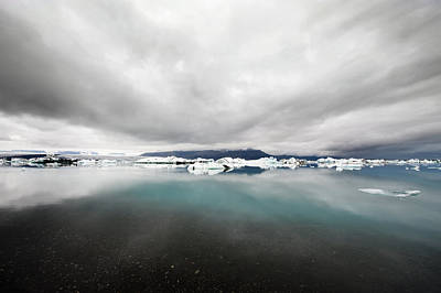 Changing Form Photograph - The Iceberg Lake Jokulsarlon In South by Corepics