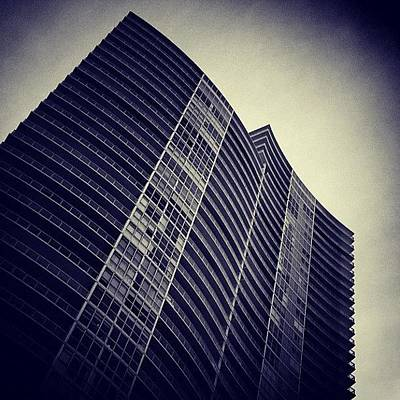 Skyscrapers Wall Art - Photograph - The Icon - South Beach by Joel Lopez