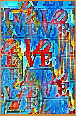 The Illusion Of Love Art Print by Bill Cannon