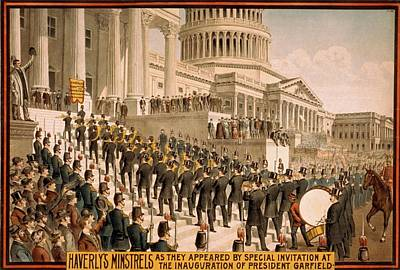 1880s Photograph - The Inauguration Of President Garfield by Everett