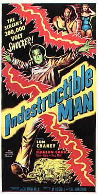 The Indestructible Man, Lon Chaney Jr Art Print by Everett